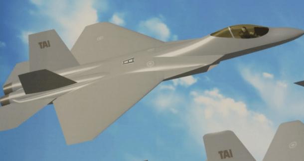 مقاتلة TFX التركية