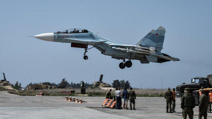 قاعدة حميميم الجوية في سوريا