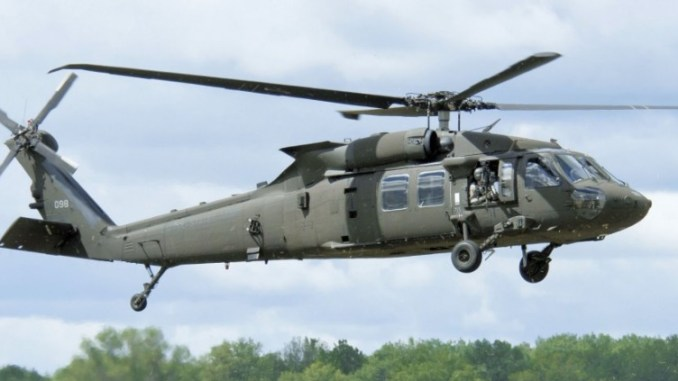 مروحية من طراز UH-60M Black Hawk