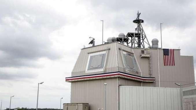 """منظومة """"Aegis Ashore"""" الأميركية للدفاع الصاروخي في رومانيا (رويترز)"""