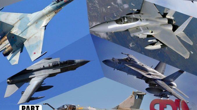 من اشهر انواع الطائرات المقاتلة