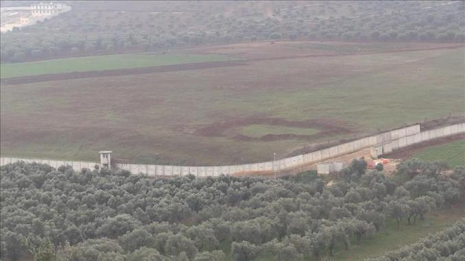 الحدود التركية السورية (وكالة الأناضول)
