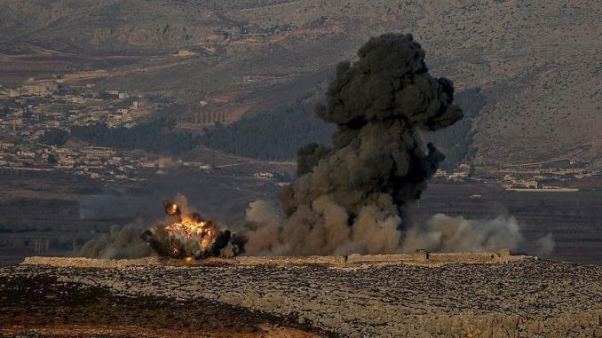 بدأت عملياً بتنفيذ عملية عسكرية برية ضد المقاتلين الأكراد في مدينة عفرين بشمال سوريا