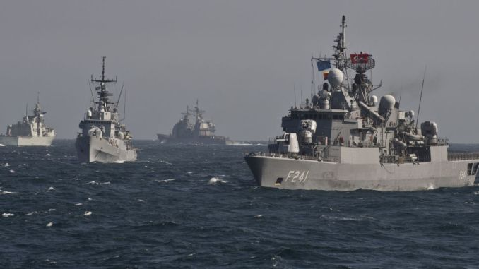 سفن حلف شمال الأطلسي في البحر الأسود