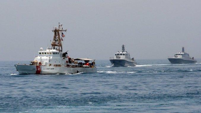 تدريبات بحرية للقوات القطرية (رويترز)