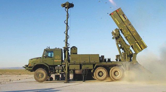 """منظومة دفاع جوي تركية من طراز """"حصارA"""""""