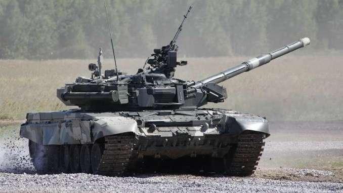 """دبابة """" Т-80"""" الروسية (صورة أرشيفية)"""