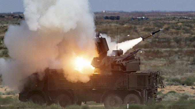 منظومة صواريخ بانتسير إس-1 (وزارة الدفاع الروسية)