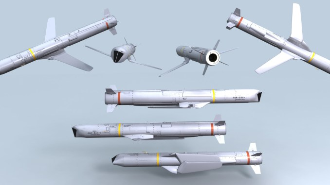 نموذج عن صاروخ SLAM-ER