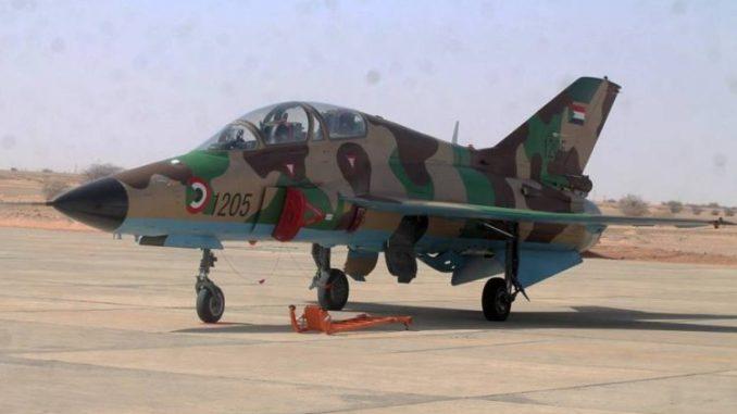 مقاتلة سودانية من طراز FTC2000