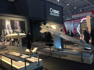 """جناخ شركة """"إيدك"""" الإماراتية خلال معرض آيدكس 2017 (الأمن والدفاع العربي)"""