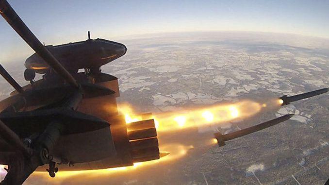 إطلاق صاروخ إس-8 أو إف بي