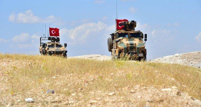 قوات عسكرية تركية في منبج