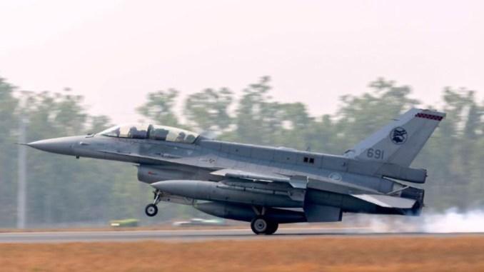 """طائرة حربية مشاركة في تدريبات """"بيتش بلاك"""" الجوية في أستراليا في 28 تموز/يوليو الجاري (صورة لرويترز من سلاح الجو الأسترالي) """