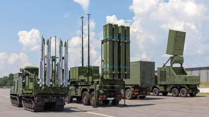 """منظومة """"SLM"""" الألمانية للدفاع الجوي"""