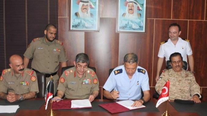 توقيع اتفاقية تعاون دفاعي بين تركيا والكويت