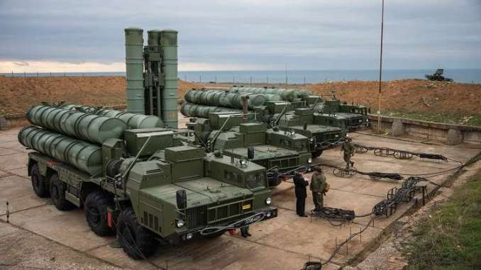 نظام إس-400 للدفاع الجوي