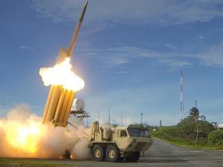 نظام الدفاع الصاروخي الأميركي من طراز THAAD