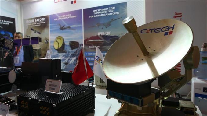 أنظمة تركية للتحكم بالطائرات المسيرة عبر الأقمار الاصطناعية