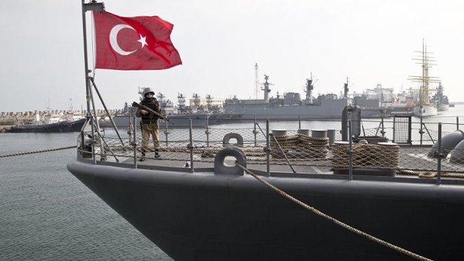 سفينة حربية تركية (صورة أرشيفية)