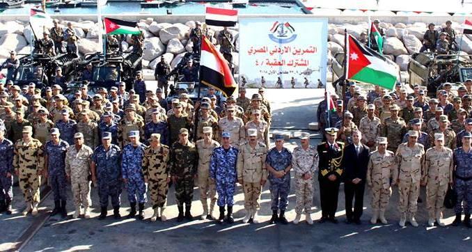 تمرين العقبة-4 بين القوات المصرية والأردنية في 11 كانون الأول/ ديسمبر