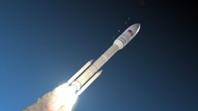 إطلاق صاروخ فضائي أميركي (صورة أرشيفية)