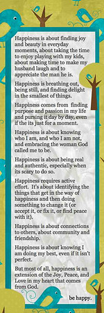 happiness vision from thishappymom.com