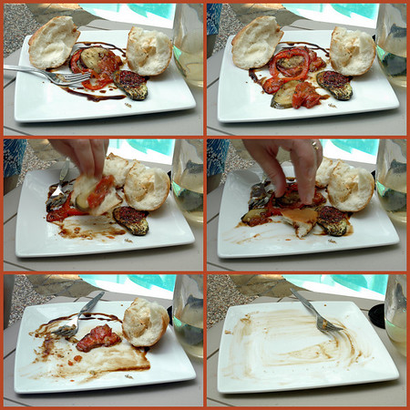 devouring grilled ratatouille