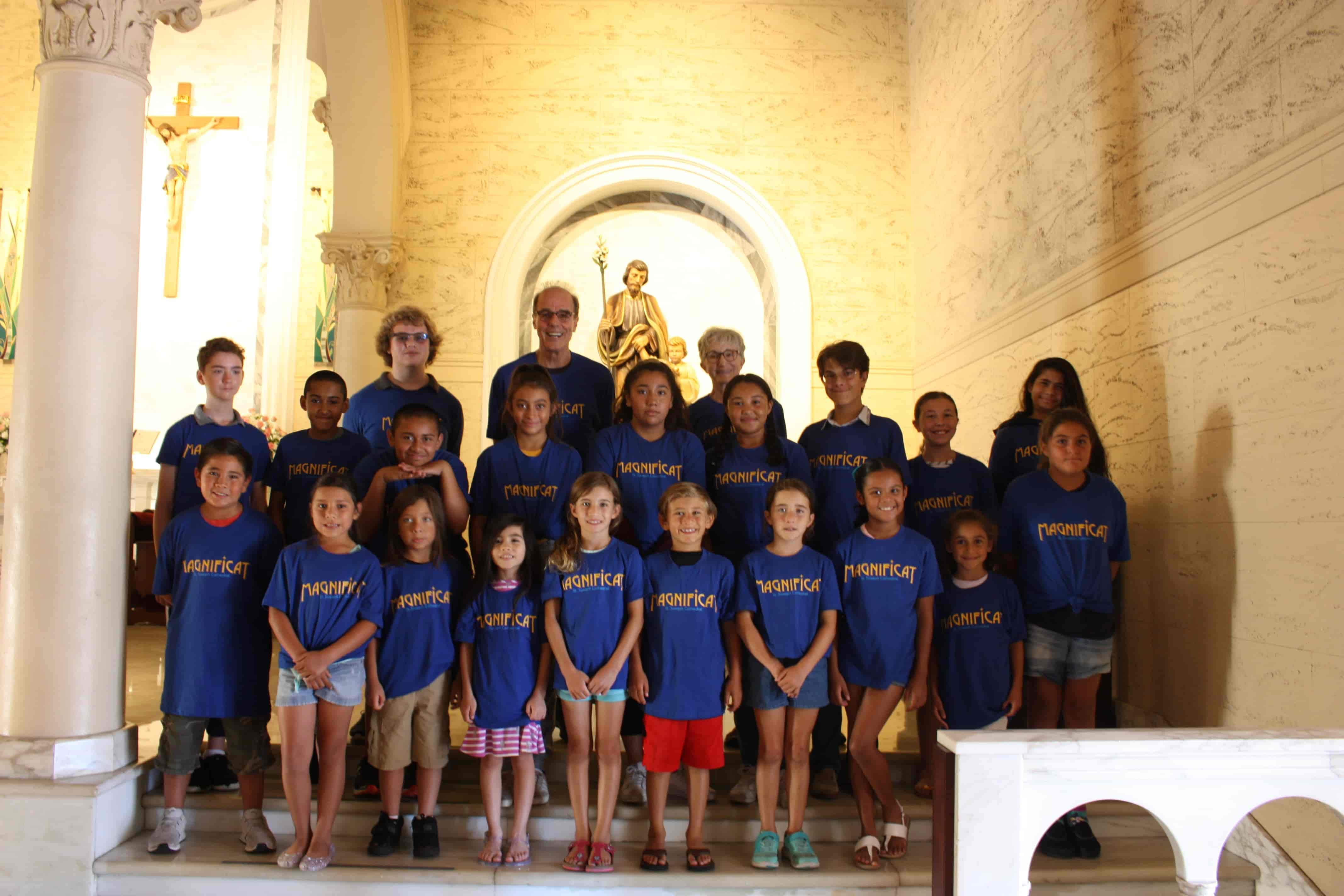 Choir Camp Kids Lead Worship 10:30 Mass