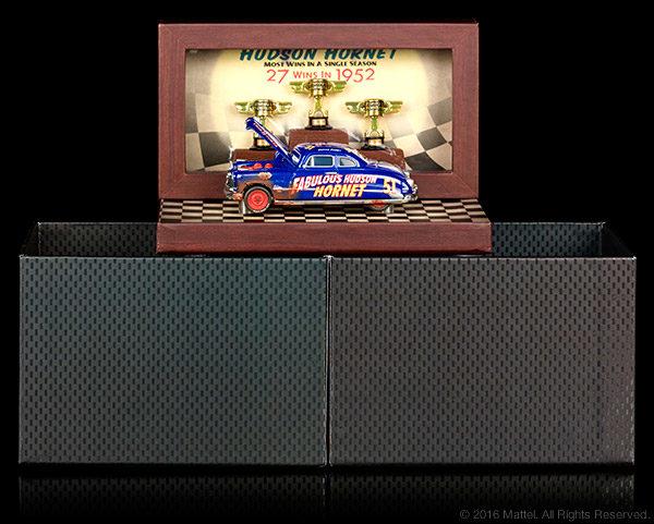 2016 SDCC Disney Pixar Cars Precision Series Die-Cast Dirt Track Fabulous Hudson Hornet Vehicle