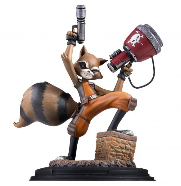 RocketRaccoonAniStatue