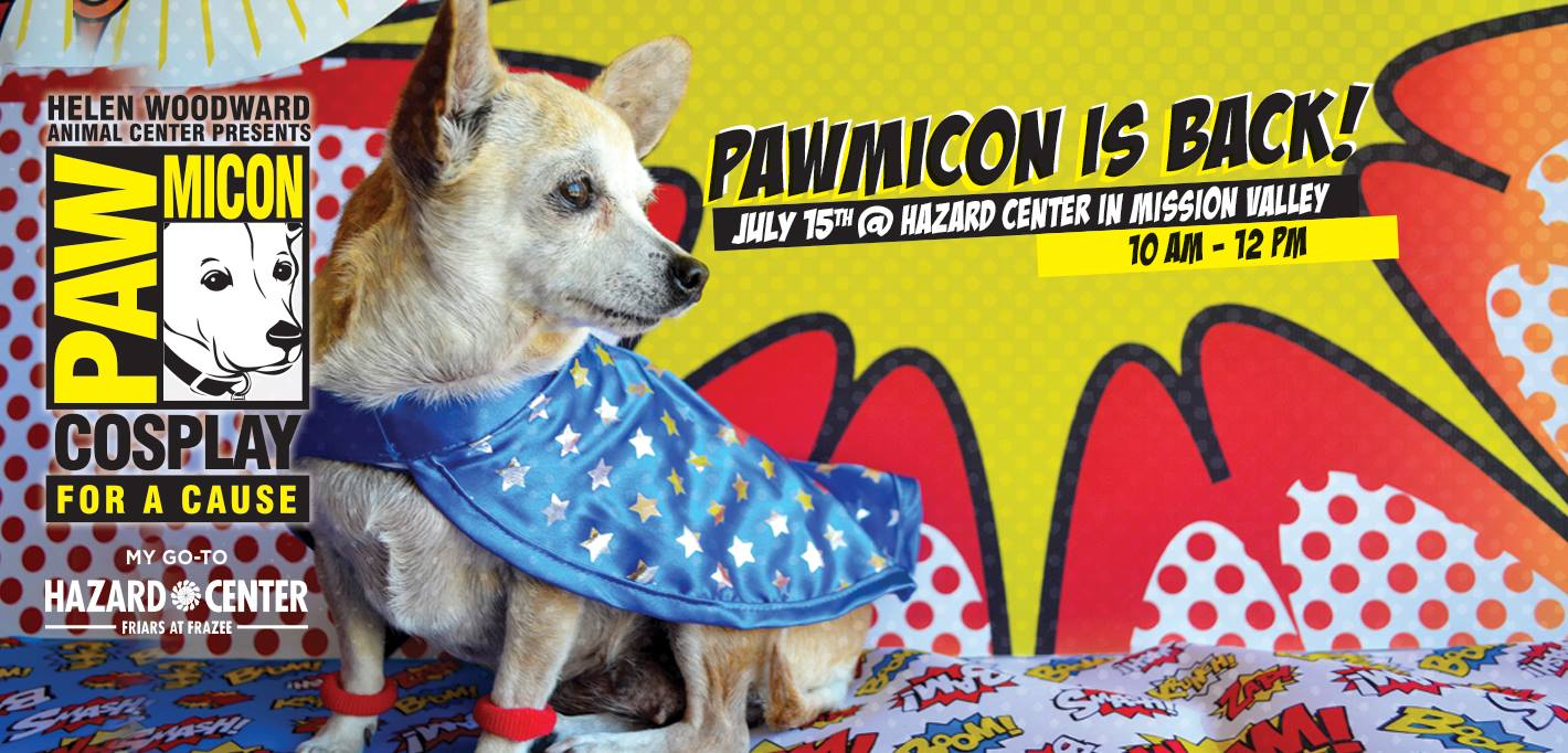 PAWmicon Comic Canines In Cosplay - Map of the us hazards comic
