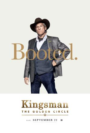 Kingsman Golden Circle karakterposters Agent Champagne