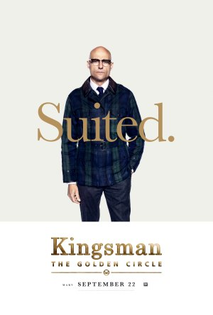 Kingsman Golden Circle karakterposters Merlin