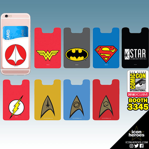 Icon Heroes Superheroes Card Holder SDCC