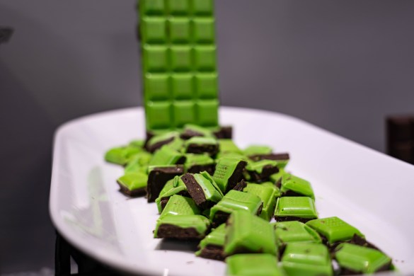 Kryptonite Chocolate Bar at SDCC