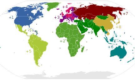 Kod negara di dunia