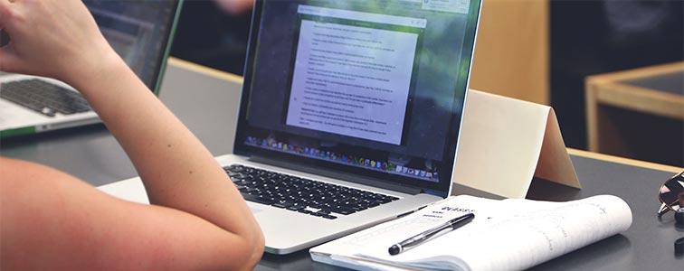 Посещение интернета через MacBook