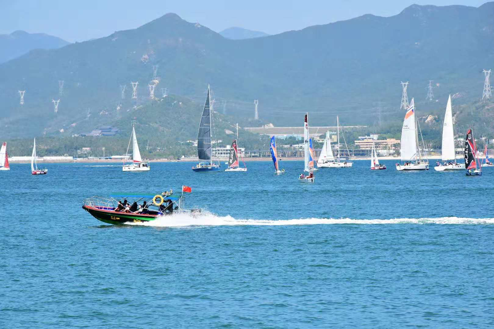 , Fall 2018 Dapeng Yacht Club Water Sports Outing, SDE Seadragon Education