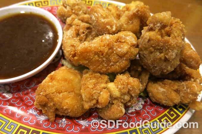 花冈Hanaoka集团旗下Junz餐厅的特色美食-盐酥鸡。
