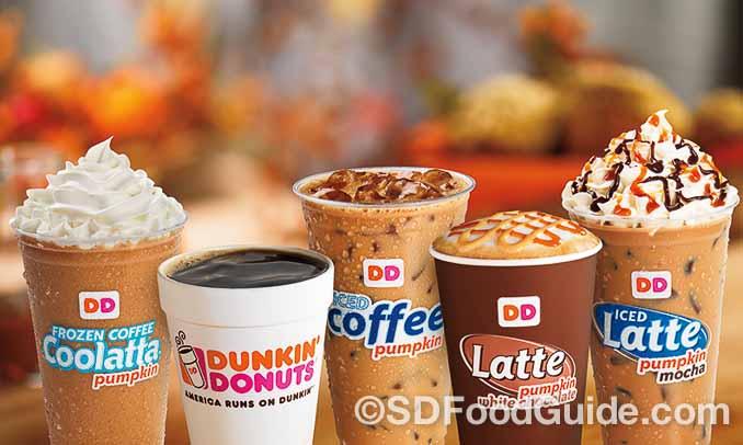 """唐恩都乐(Dunkin' Donuts)曾连续三年获得""""最有人气咖啡店""""品牌。"""