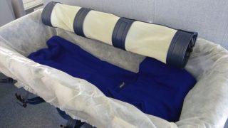 1歳子連れ 仙台発那覇便◆ベビーベッド(バシネット)利用で沖縄旅行