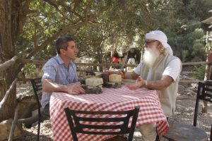 Shay Seltzer, goat farmer, master cheese maker near Jerusalem
