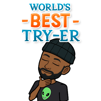world's best try-er