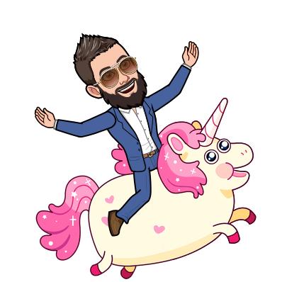riding mr.unicorn