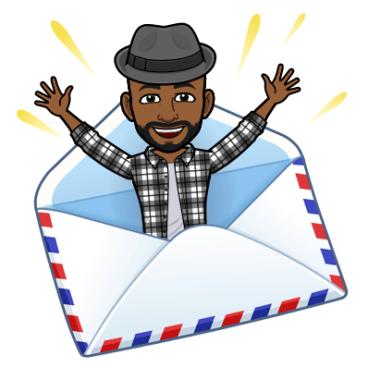 envelope greeting