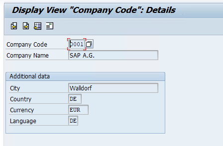 OX02 Company Code Details