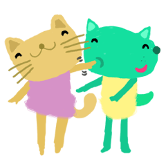 Sweet Cat and Happy Dog~jp