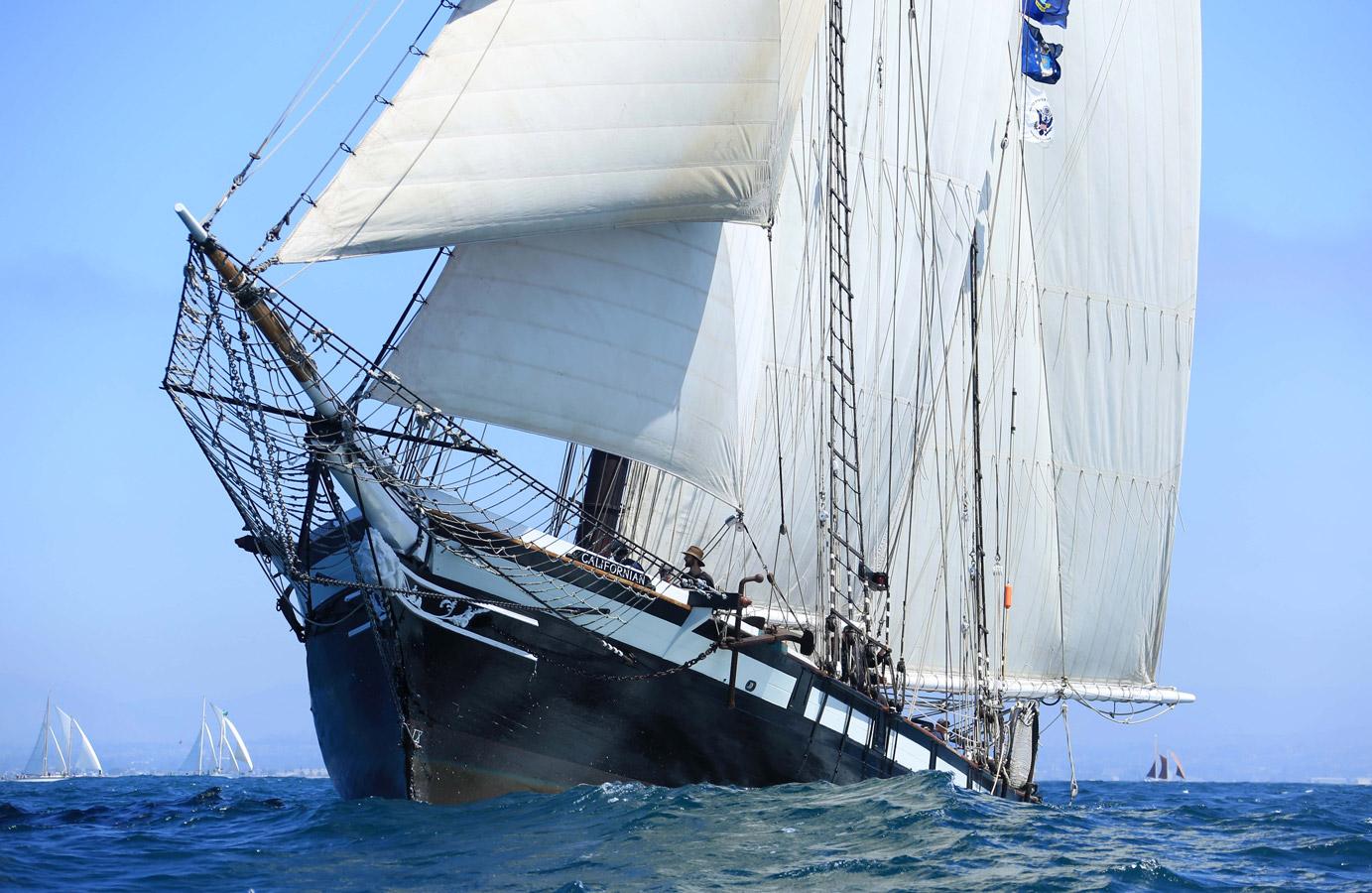 Schooner Cup Charity Regatta Maritime Museum Of San Diego