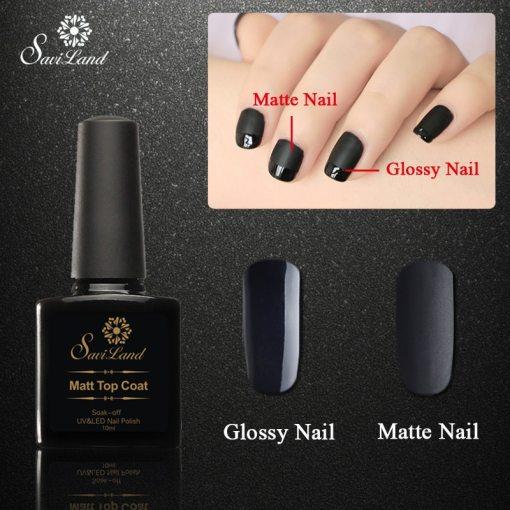 Matte Top Coat Gel Nail Polish - SDM Direct